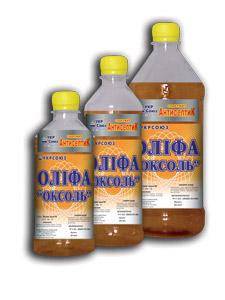 Олифа Оксоль с антисептиком