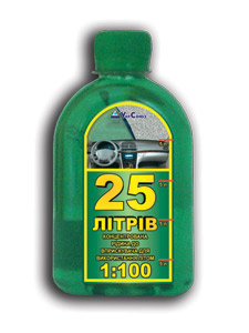 Летняя стеклоомывающая жидкость 25 литров
